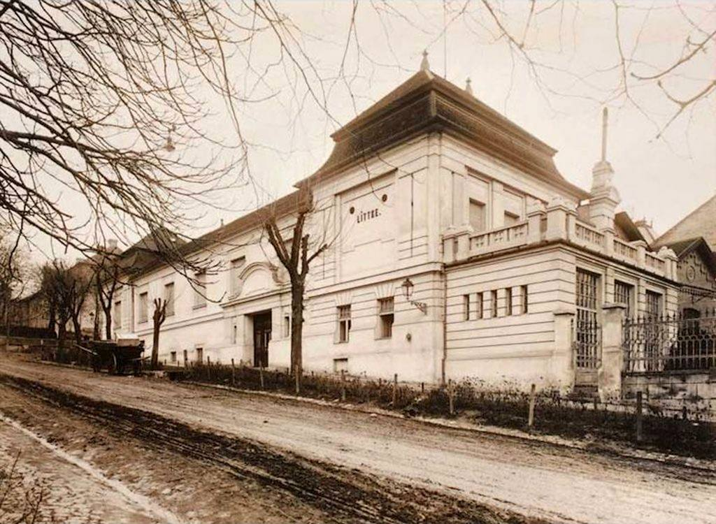1925-ben így festett a gyár