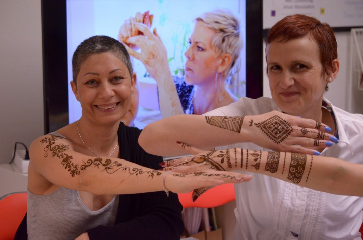 Szabadság érzetet ad a henna Fotó: Kovács Ágnes