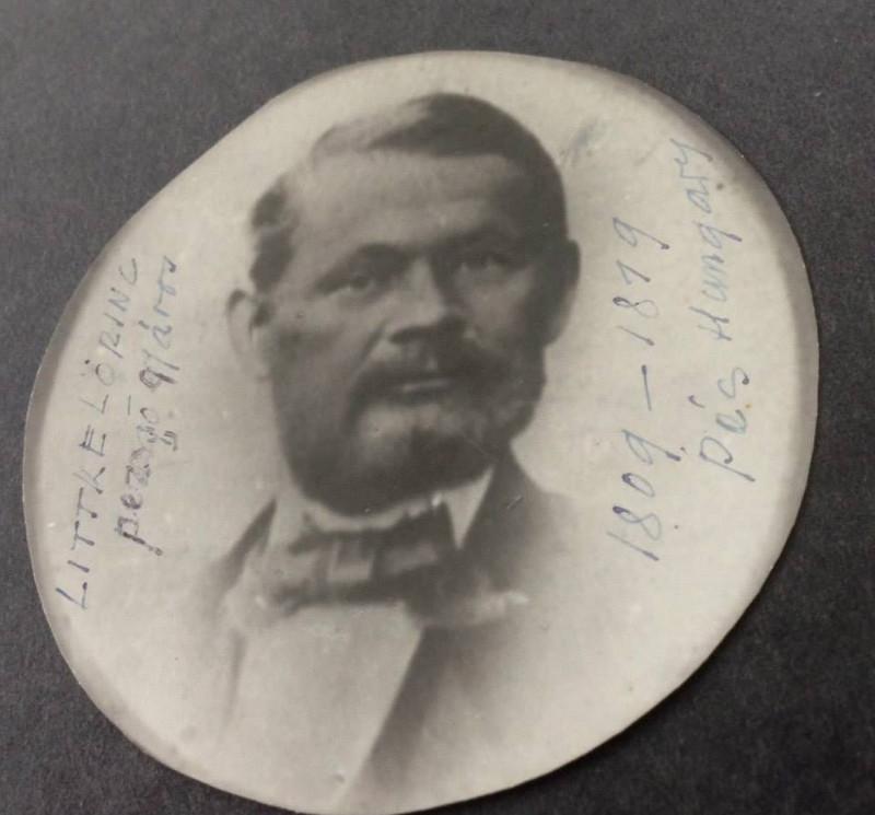 Littke Lőrinc portréja (forrás: Ujrakezdek)