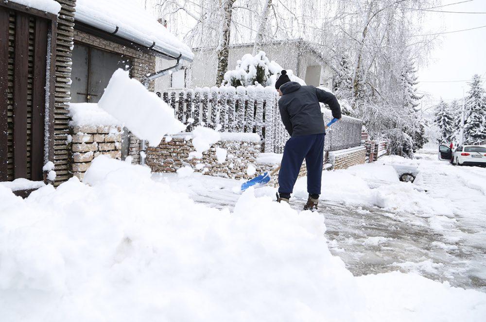 hó, Szabolcsfalu