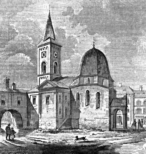 _KÉP - 1855 Főtér parochiális templom 500x