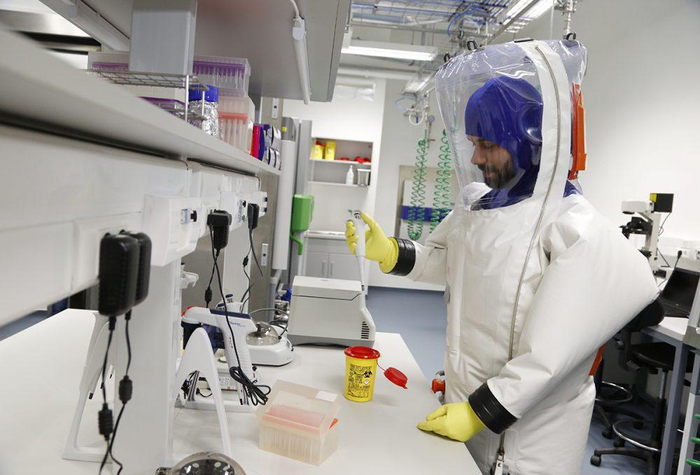 virológiai labor, hl12