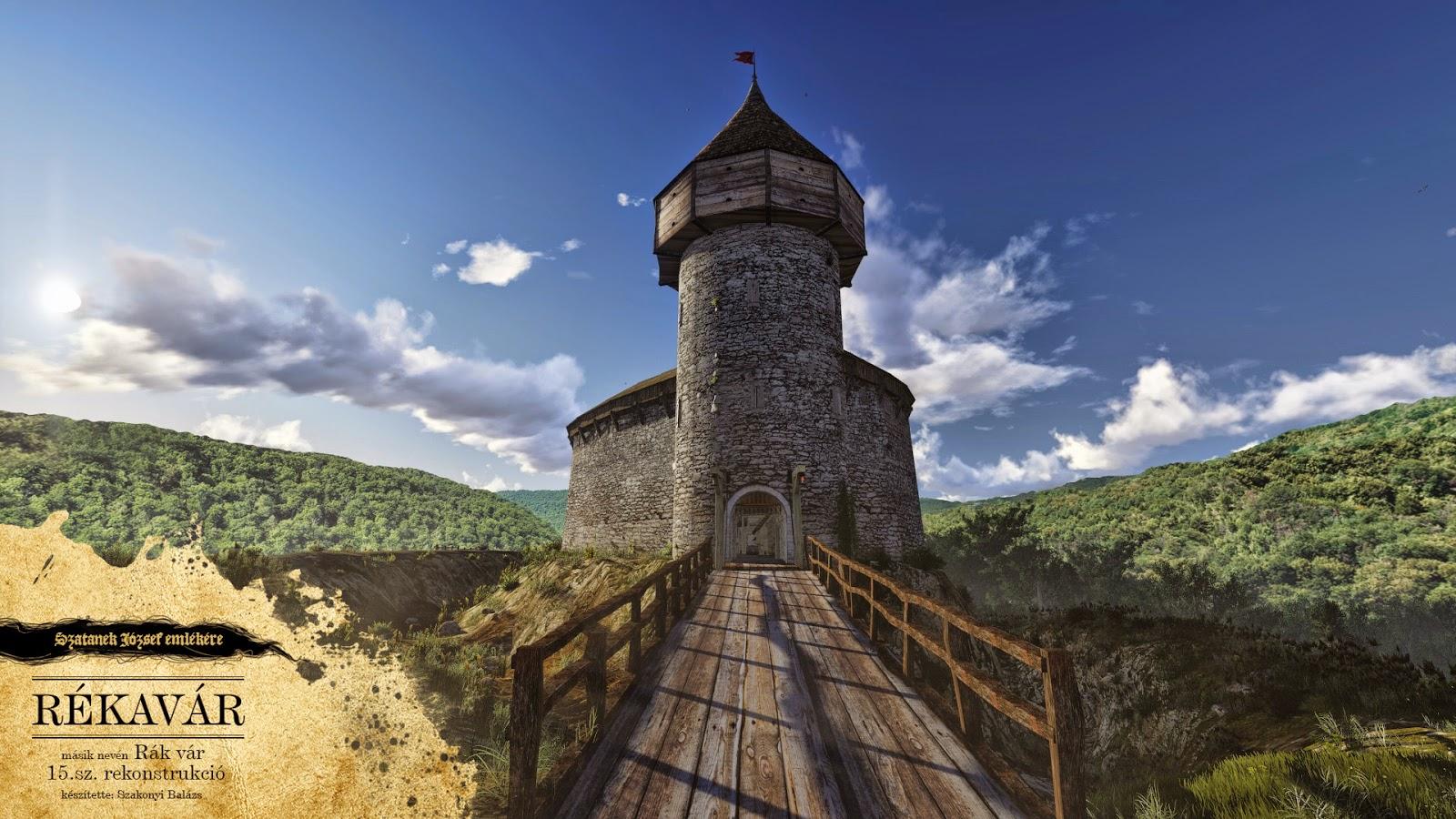 Így nézhetett ki a Rékavár (Forrás: Kő-Kövön)