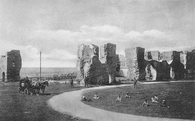 A Tettye az 1900-as években, amikor még sok minden nem volt itt (Forrás: Régi Pécs Facebook)