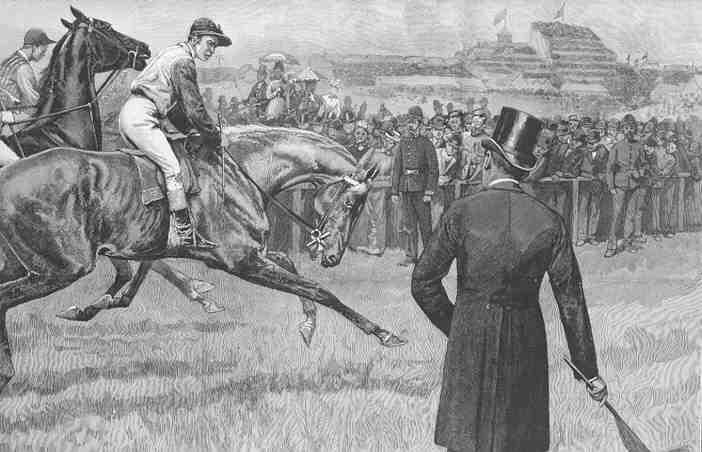 Indul a verseny! (1891-es amerikai festmény)