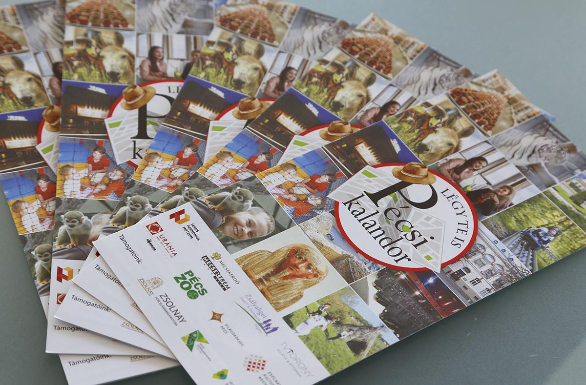 A Pécsi Kalandor program menetlevelei