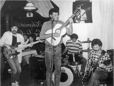 Az első blues-kocsma Pécsett (Forrás: Pécs Története)