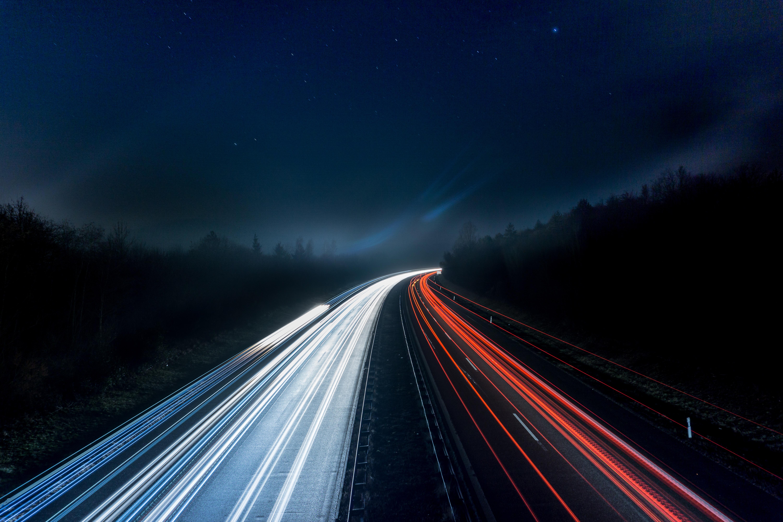 éjjel autópálya