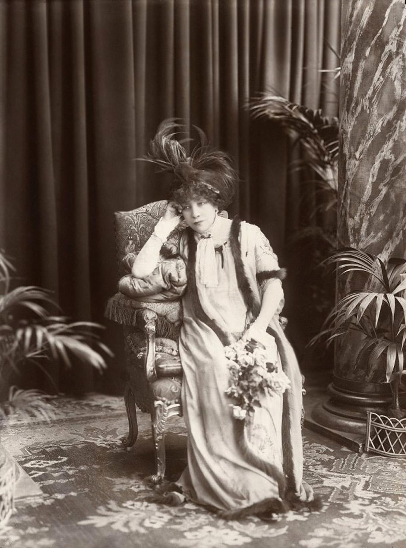 Sarah Bernhardt francia színésznő Pécsett mutatta be filmjét