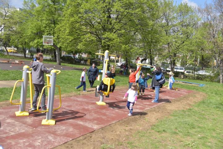 A park bárki számára elérhető, ingyenes mozgási lehetőséget biztosít