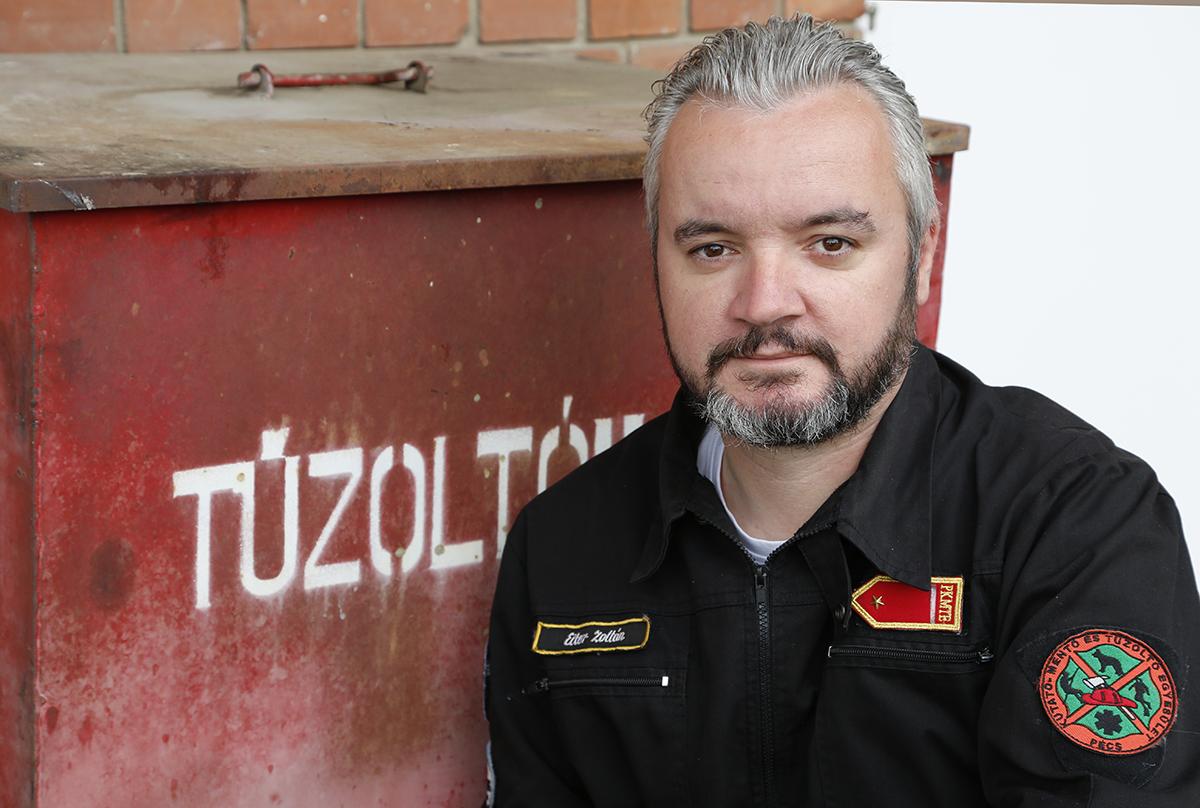 Eiter Zoltán önként segít a bajbajutottakon