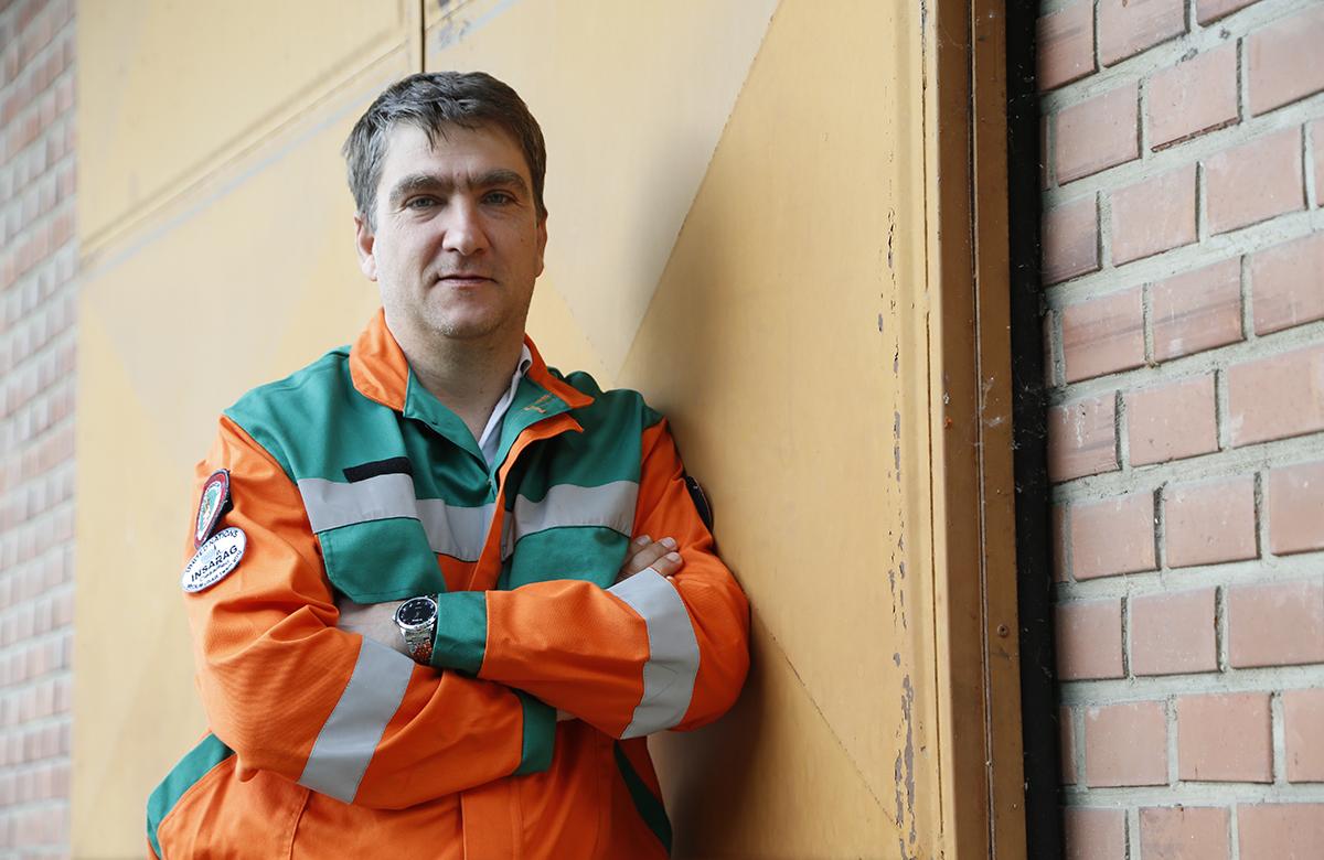 Bodor Csaba élete a segítés