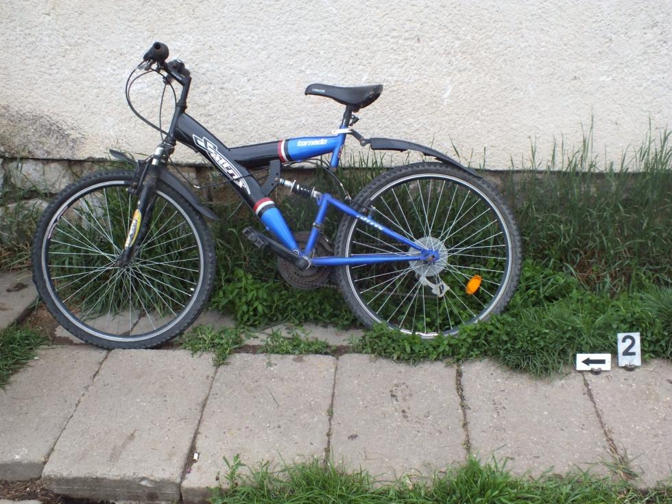 Többek között ezt a bringát is eltulajdonította