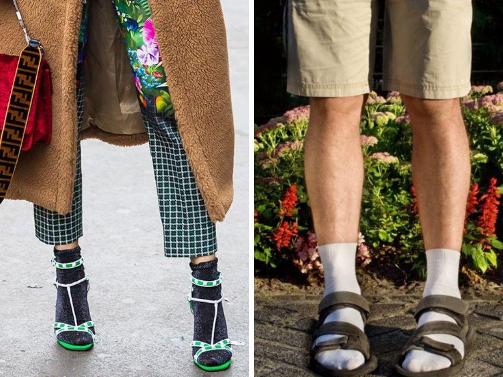 Nem biztos, hogy ciki a szandál zokni a pécsi stylist