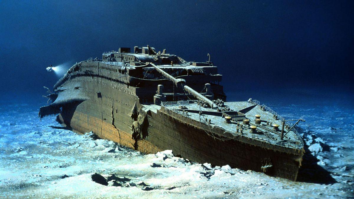 Titanic roncsai - krónika