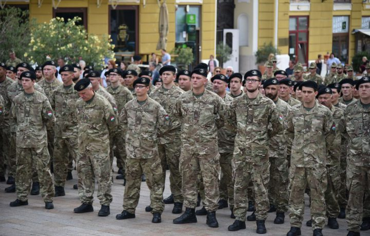 honvédelmi nap katona